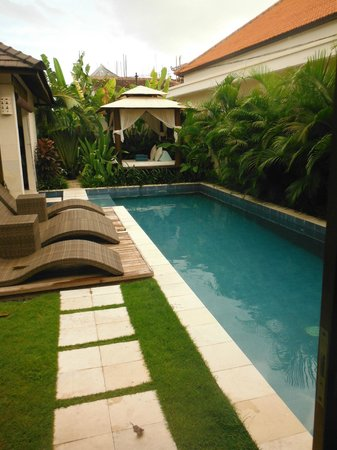 Arama Riverside Villas:                   view from door of master suite 3 bed villa 10