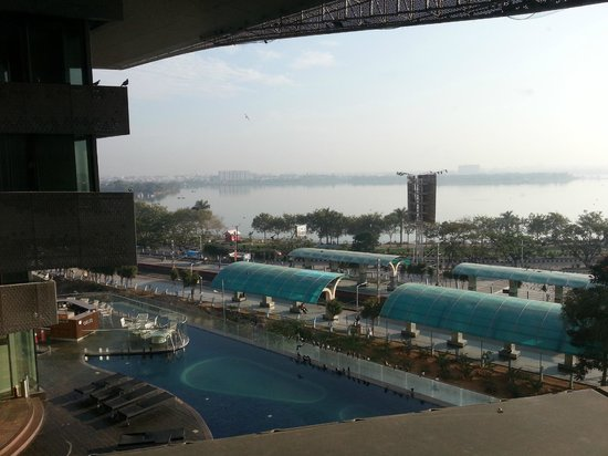 Pool Side View Picture Of The Park Hyderabad Hyderabad Tripadvisor