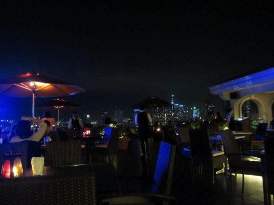 The Bayleaf:                   SkyDeck roofdeck restaurant
