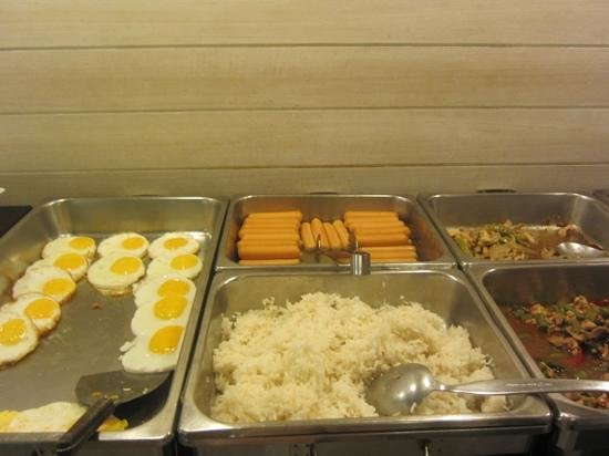 myhotel Pratunam:                   buffet breakfast