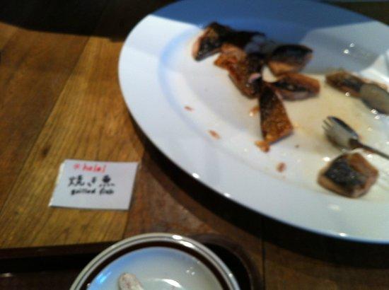 Hotel Mets Shibuya :                   Fish at breakfast
