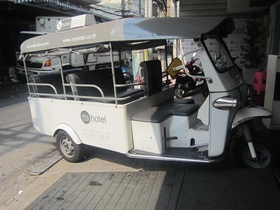 myhotel Pratunam:                   free lovely tuktuk