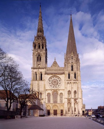 Tower of Chartres Cathedral