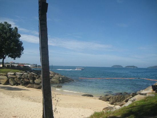 Sutera Harbour Resort (The Pacific Sutera & The Magellan Sutera):                   View from Pool Area                 