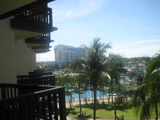 Sutera Harbour Resort (The Pacific Sutera & The Magellan Sutera):                   Marina from room                 