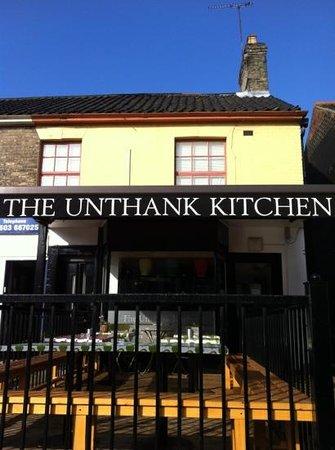 Unthank Kitchen:                                     #unthankkitchen on a sunny morning