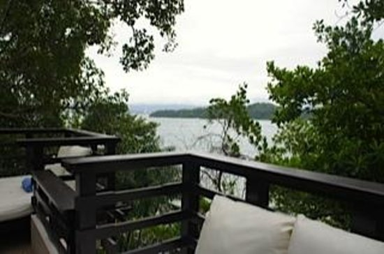 Gaya Island Resort:                   view from the suite