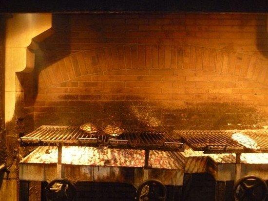 Restaurante Elkano:                   Parrilla de Elkano