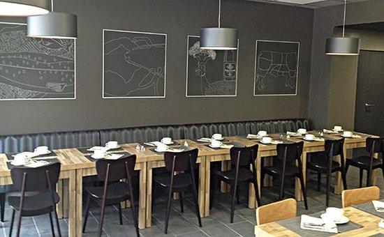 Appart'City Confort Lyon Cité Internationale : Park&Suites Elegance Lyon Cite Internationale - Breakfast