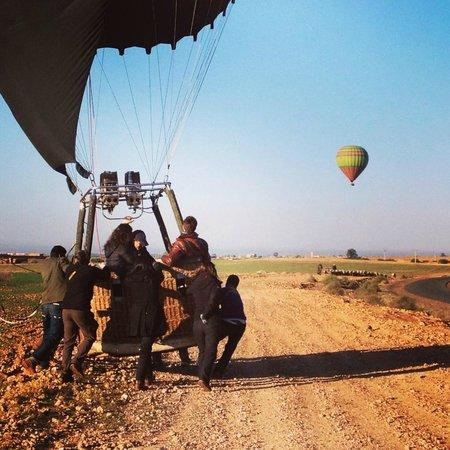 ballon dirigeable marrakech