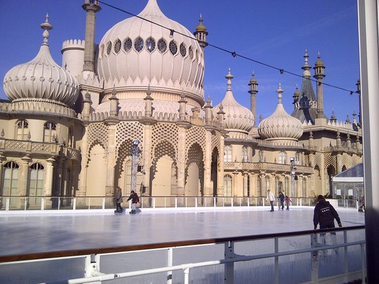 ‪‪Royal Pavilion‬:                   The Royal Pavillion Ice Rink