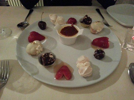 The Huntsman:                   Valentine's Day Dessert Course (of 6!)