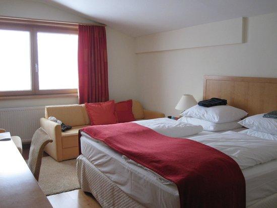 Hotel Quellenhof:                   We choose room 402 each year