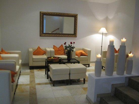 Hotel Quellenhof:                   Entrance to the Wellness area