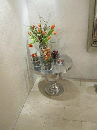 Hotel Quellenhof:                   Always lovely flowers around the hotel