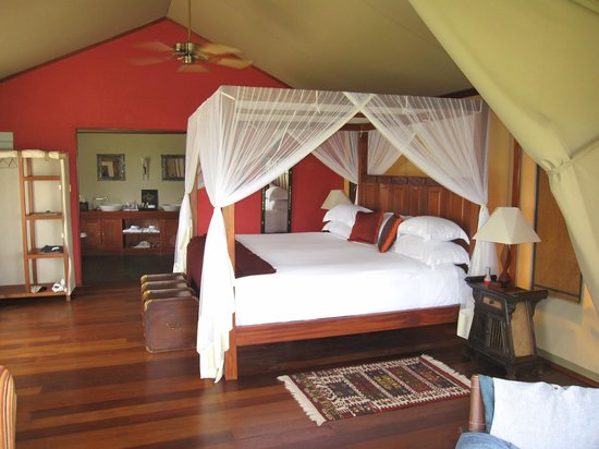 Olare Mara Kempinski Masai Mara:                                     room