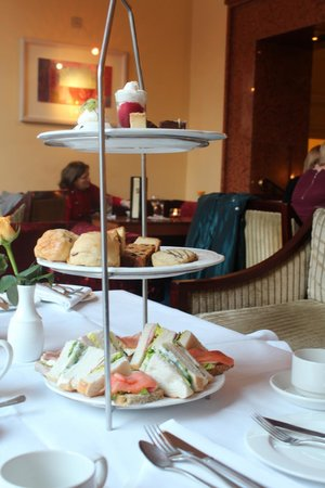 Gresham Hotel:                   Afternoon Tea for Two