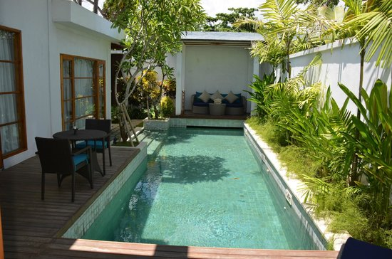 The Samaya Bali Seminyak:                   Private pool in villa