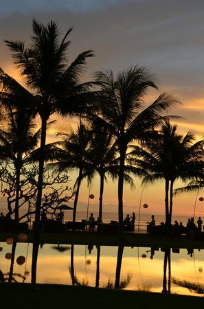 The Samaya Bali Seminyak:                   Sunset