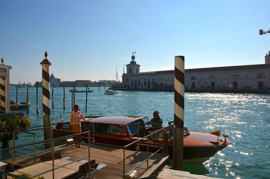 The Westin Europa & Regina, Venice:                   Dock of the hotel