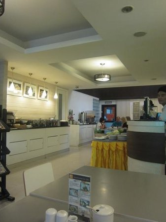 myhotel Pratunam:                   breakfast place