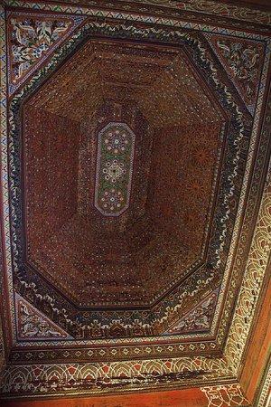 قصر الباهية:                   Ceiling                 