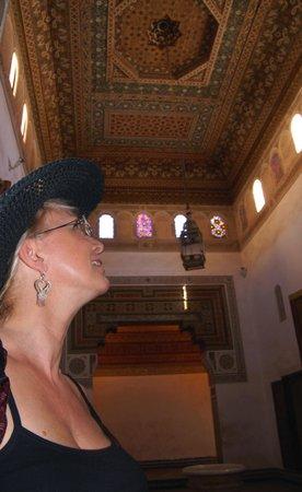 Bahia-palasset:                   Ceiling
