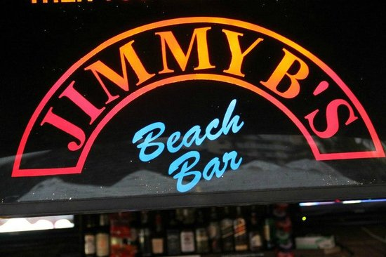 Jimmy B's Beach Bar:                   Enticing one to enter