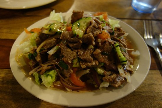 Thep Thai:                   The best beef salad in the whole world