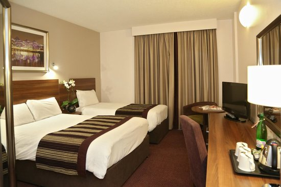DoubleTree by Hilton Hotel London - Chelsea: Standard twin room