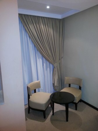Hotel Almas:                                     coin salon