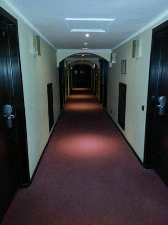 Hotel Almas:                                     couloire