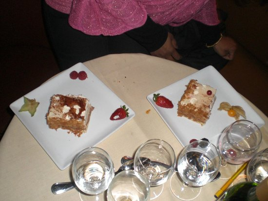 Restaurant le Libertalia:                                     bavaroise choc-caramel