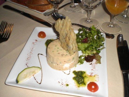 Restaurant le Libertalia:                                     terrine de légume