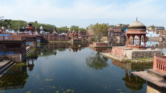 Dholpur, India:                   le lac sacré