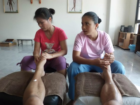 Por filmer olive thai massage