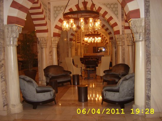 Renaissance Antalya Beach Resort & Spa:                   part of the foyer