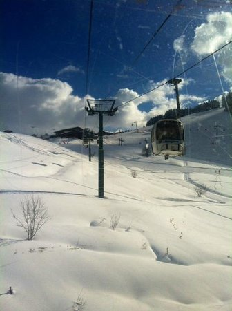Mont d'Arbois Ski Area:                   Almost there..
