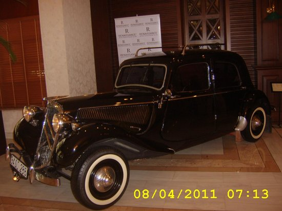 Renaissance Antalya Beach Resort & Spa:                   car in foyer