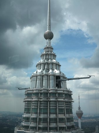 Traders Hotel, Kuala Lumpur:                   One of the Twin Towers