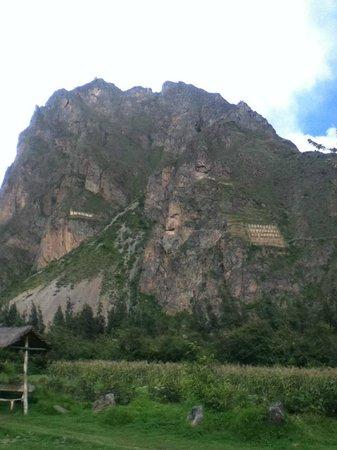 Ollantaytambo, Peru:                   El Rostro del inca