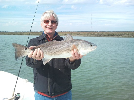 Backcountry Fishing Charters: February Red