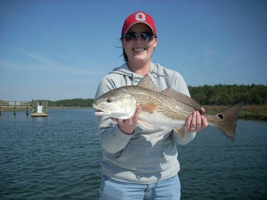 Backcountry Fishing Charters: Redfish in March