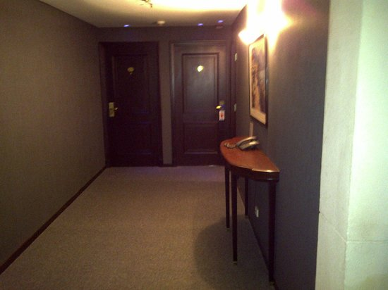 Howard Johnson Plaza Florida Street:                   Pasillos del hotel