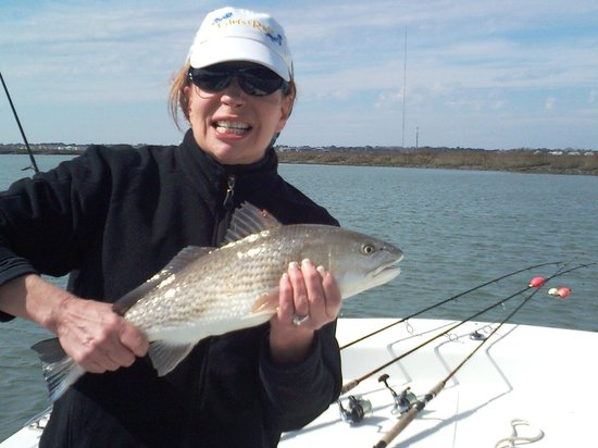 ‪‪Backcountry Fishing Charters‬: February Redfish‬