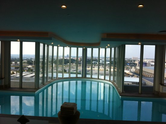 Indoor Heated Pool Picture Of Camelot Spa At The Intercontinental Johannesburg O R Tambo