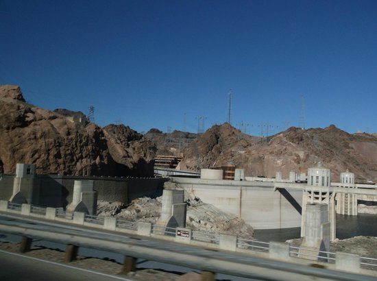 Hoover dam from pontoon boat picture of pink jeep tours - Hacienda interiors boulder city nv ...