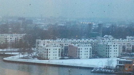 Movenpick Hotel Amsterdam City Center:                   View from room