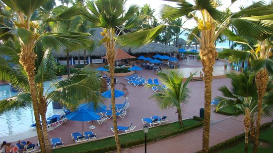 Occidental Caribe:                   snack bar resto et bar de la plage