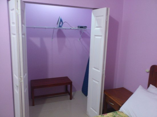 Piarco Village Suites :                   Walk-in closet